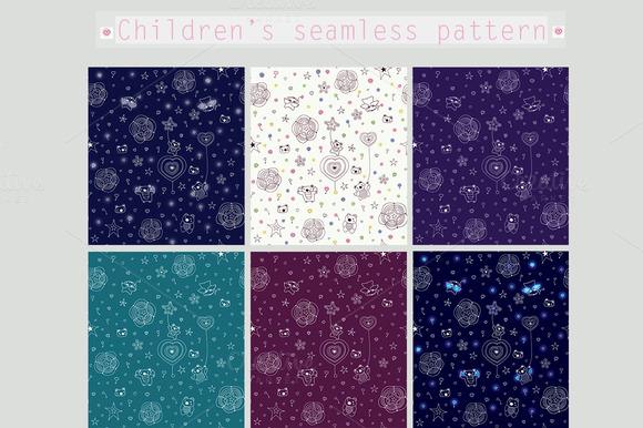 Children S Seamless Pattern