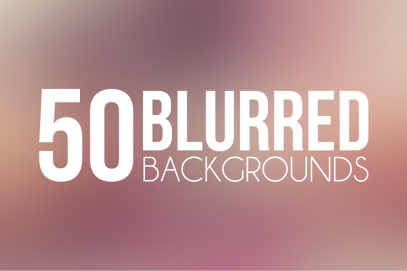 50 Blurred Backgrounds