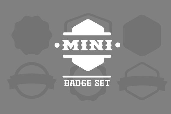 Mini Badge Set