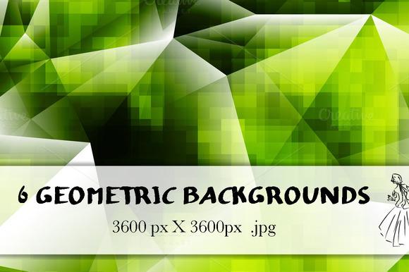 6 Geometric Backgrounds