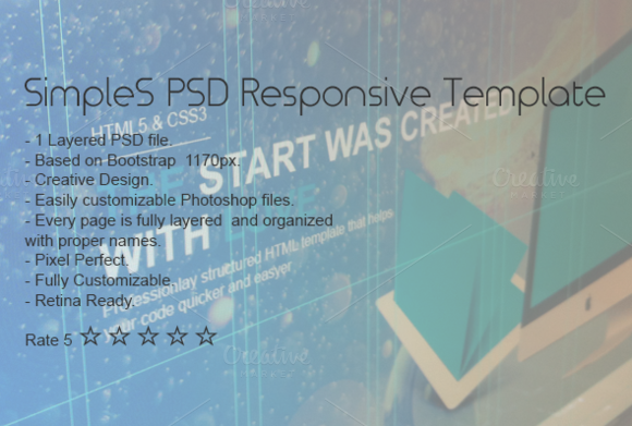 SimpleS PSD Template
