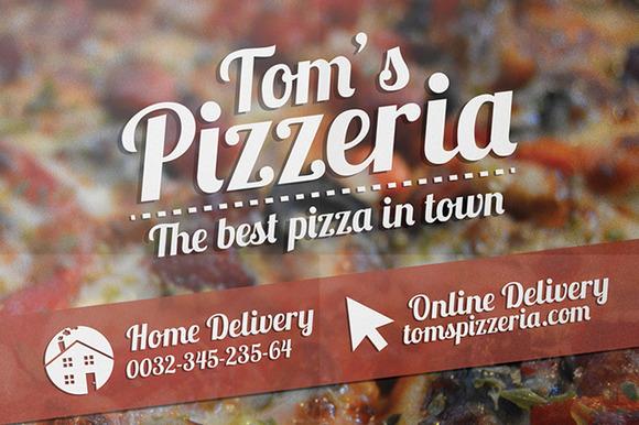 Pizzeria Flyer