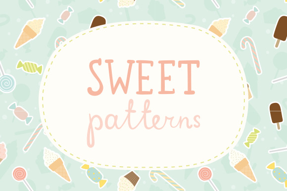 Set Of 6 Sweet Patterns