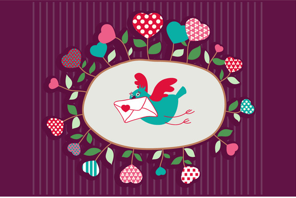 Vector Illustration Love Letter