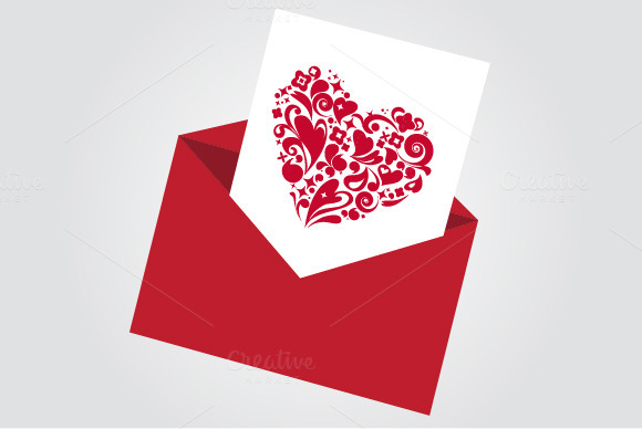 Valentine S Day 2 Vector Cards