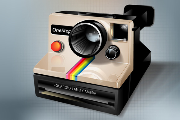Polaroid Icon Vectors