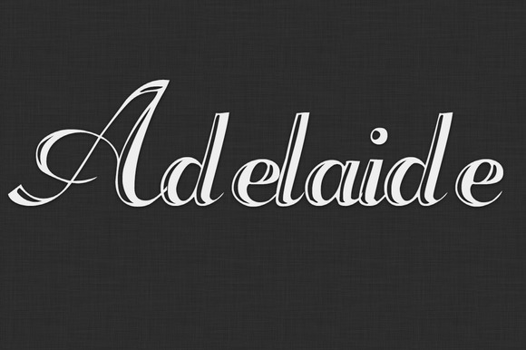 Adelaide Typeface