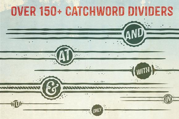 Castor Catchword Dividers