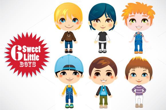 Six Little Boys