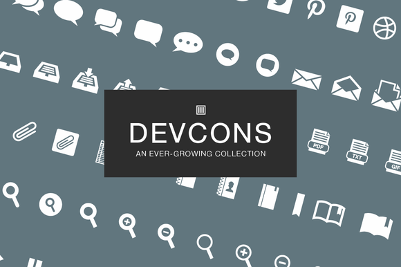 DevCons Developer Icon Set