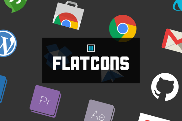 Flatcons Flat Web Icons