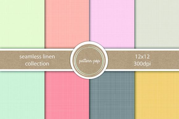 Seamless Linen Paper Pack