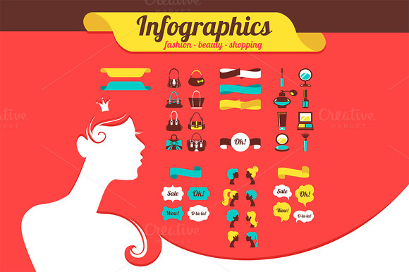 Beauty Women Infographics