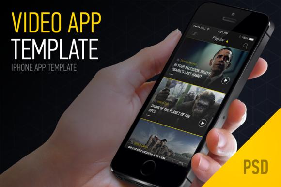 Video App Template