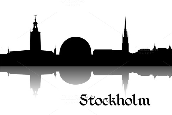 Silhouette Of Stockholm