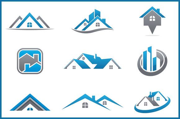 Real Estate Bundle 9 Logos
