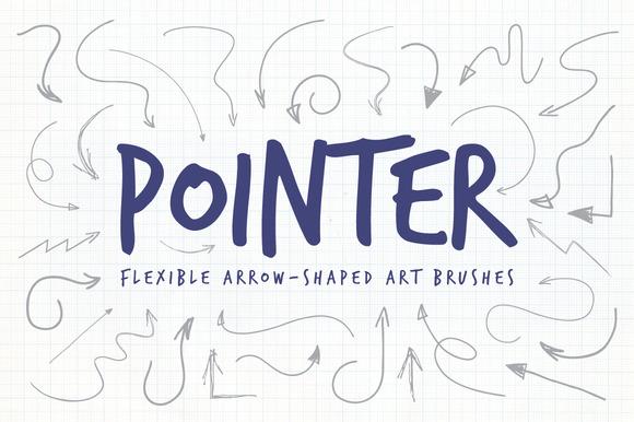 Pointer Illustrator Art Brushes