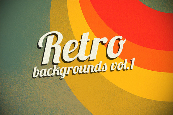 Retro Backgrounds Vol.1