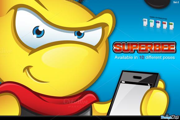 Super Bee Character Set 2