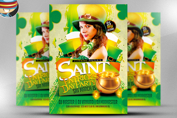 St Paddy S Day Party Flyer Template