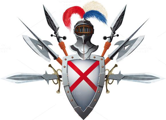 Knight S Mascot