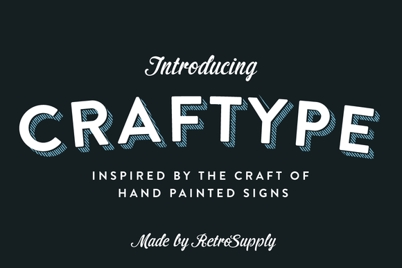 CraftType 3D Sign Painting Actions