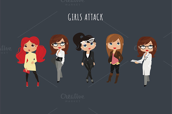 Girls Attack