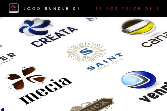 30 Logos For Price Of 1