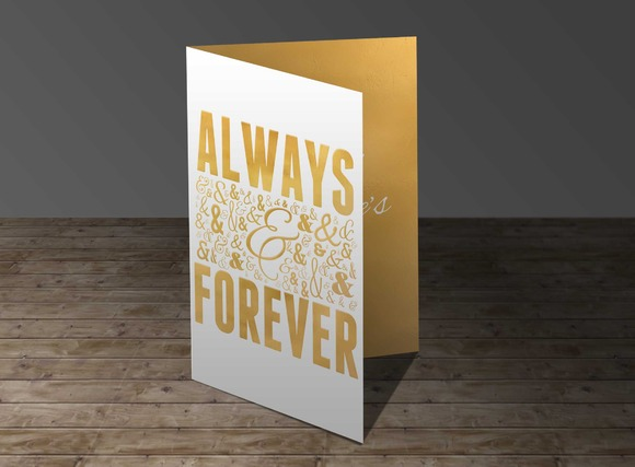 Always Forever Greeting Card