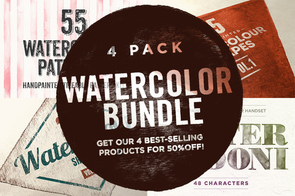 Watercolor Bundle