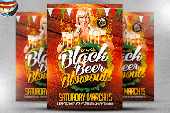 St Patrick S Day Black Beer Blowout