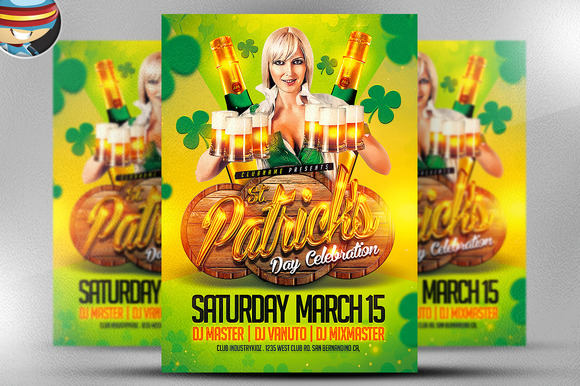 St Patrick S Day Celebrations Flyer