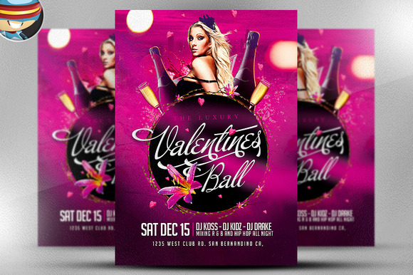 The Luxury Valentine S Ball Flyer