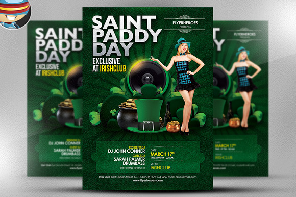 Saint Paddy S Day Exclusive Flyer