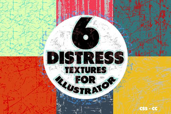 Distress Patterns Illustrator