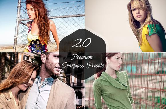 20 Premium Sharpness Presets