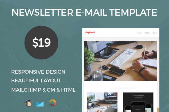 Improve Responsive E-mail Template