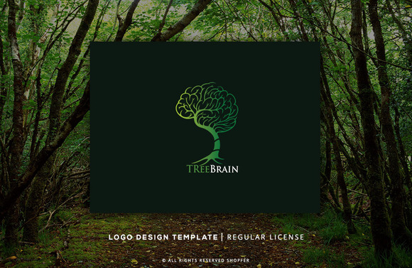 Treebrian Logo Template