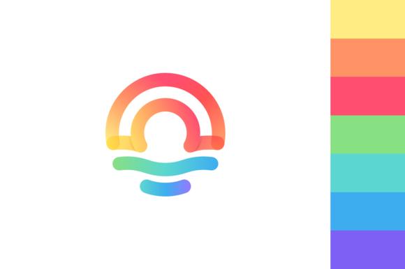 Rainbow Sunrise Logo
