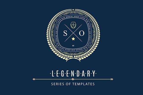 Luxury Logo From LEGENDARY Set