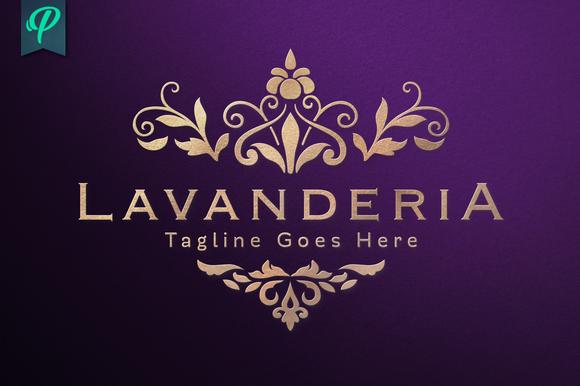 Lavanderia Classy Vintage Logo