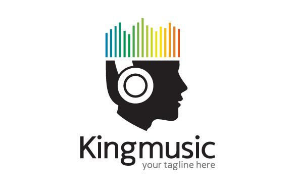 King Music Logo Template