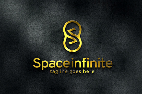 Space Infinite Letter S Logo