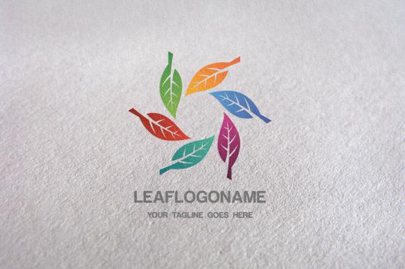 Leaf Eco Leaf Logo Template
