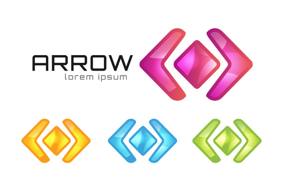 Arrow Abstract Logo Vector Template