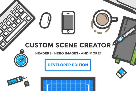 Hero Header Creator Developer