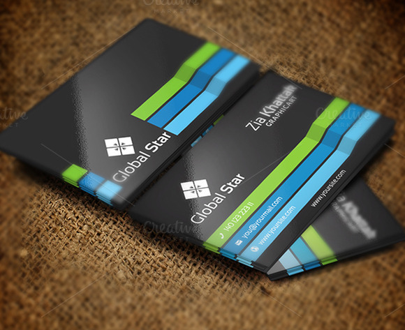 Global Star Vol 06 Business Card