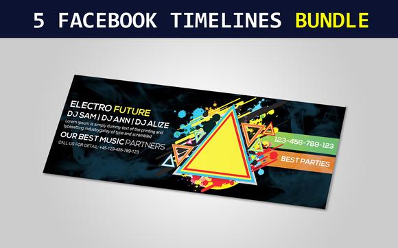 Corporate Business Facebook Timeline