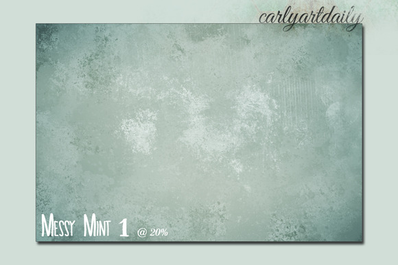Messy Mint Digital Papers