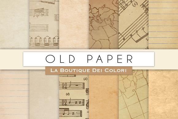 Old Paper Digital Textures